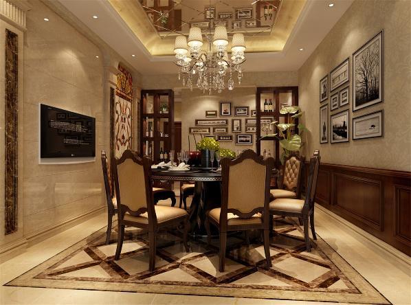 远东世纪园别墅户型装修欧式风格设计方案展示,上海腾龙别墅设计,