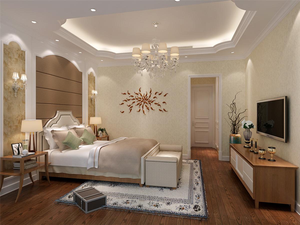 富力湾 别墅装修 欧美风格 腾龙设计 卧室图片来自腾龙设计在富力湾别墅装修欧美风格设计1的分享