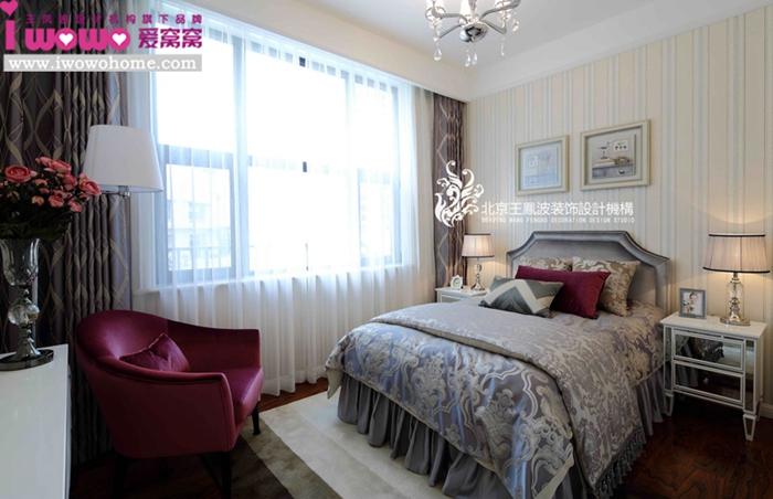 二居 80后 现代 卧室图片来自爱窝窝精致家装机构在奢时尚的分享