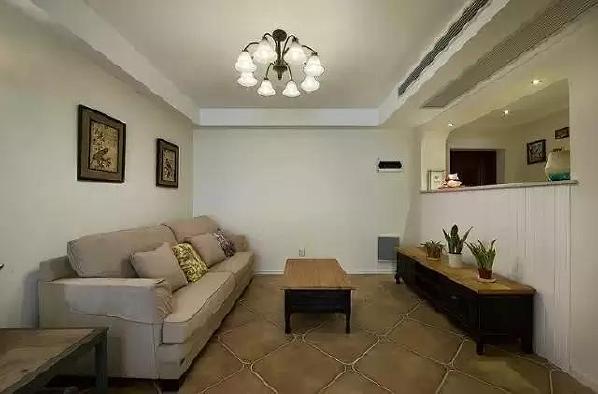 客厅空间 十分的简约,带来简洁之感。