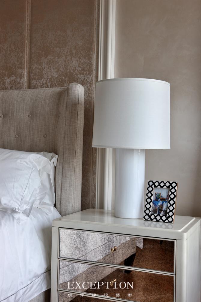 简美风格 软装设计 室内设计 深圳设计师 时尚生活 豪宅设计 别墅设计 卧室设计 客厅设计 卧室图片来自例外软装设计在林语海湾--深圳翡翠海岸室内设计的分享