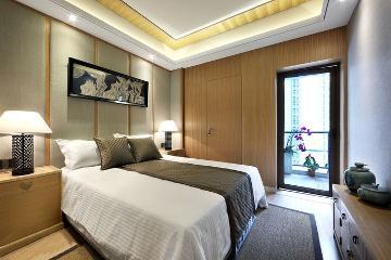 北京新天地145平新中式风格