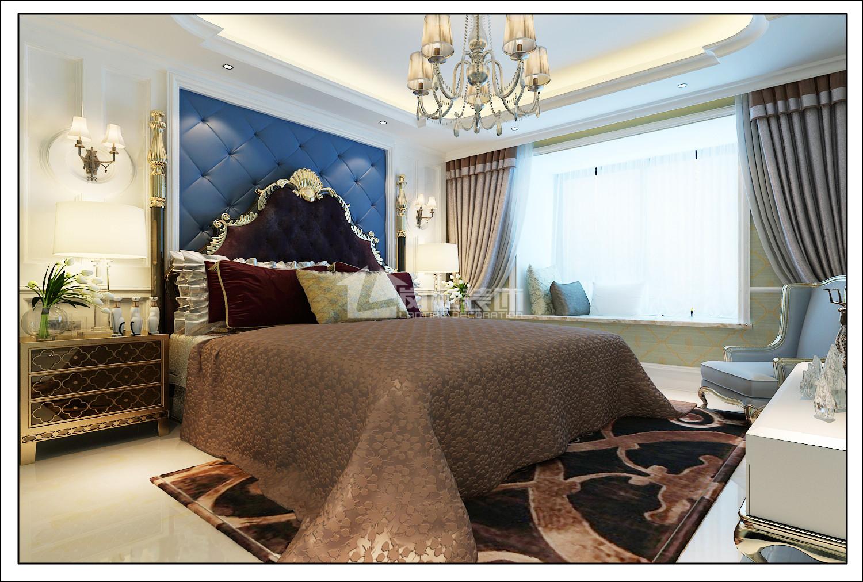 欧式 混搭 三居 白领 80后 纯水岸 卧室图片来自岚庭家居在纯水岸东湖162㎡欧式风格的分享