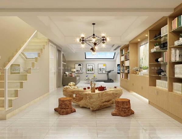浦东南汇御沁园220平别墅户型装修现代风格设计方案展示,上海腾龙别墅设计师周一俊作品,欢迎品鉴!