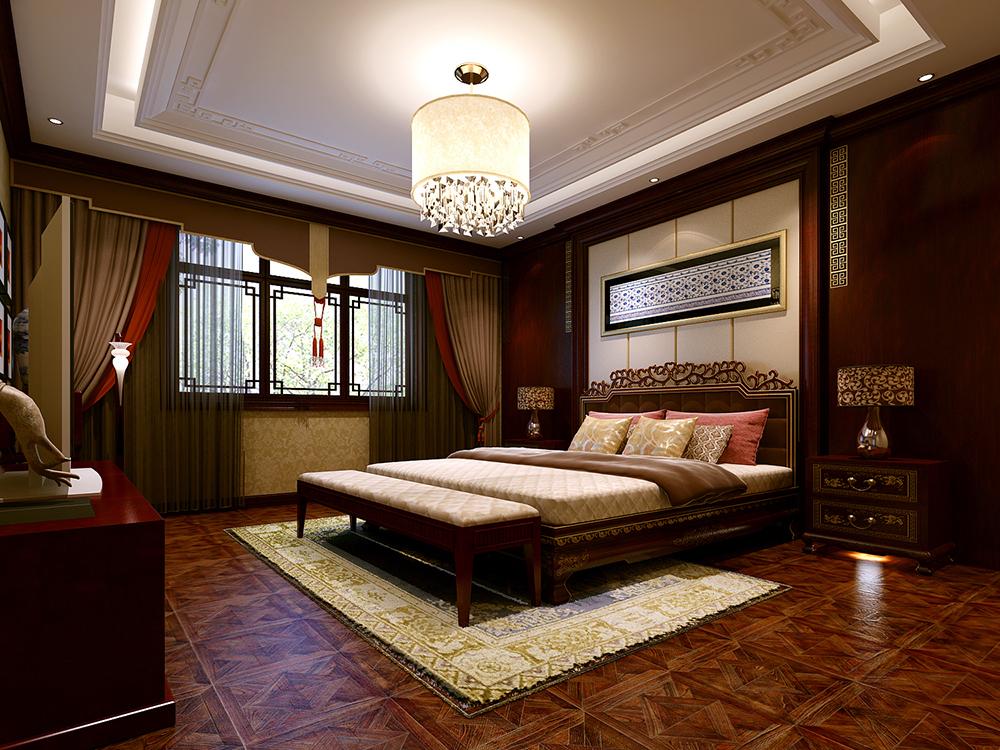 中式 天津 四居室 卧室图片来自tjsczs88在风华绝代,典雅中式的分享