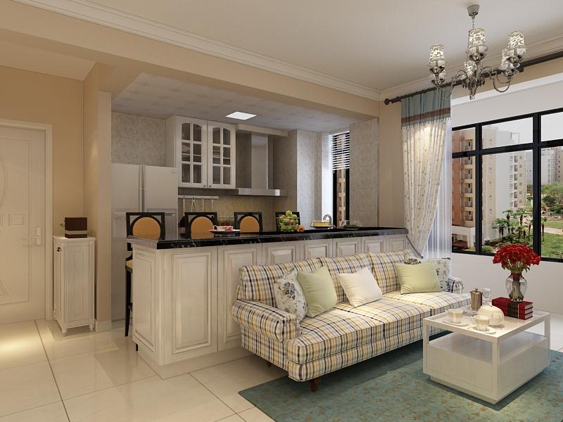 三居 客厅图片来自石家庄阳光力天装饰在东胜紫御府-120㎡-混搭的分享