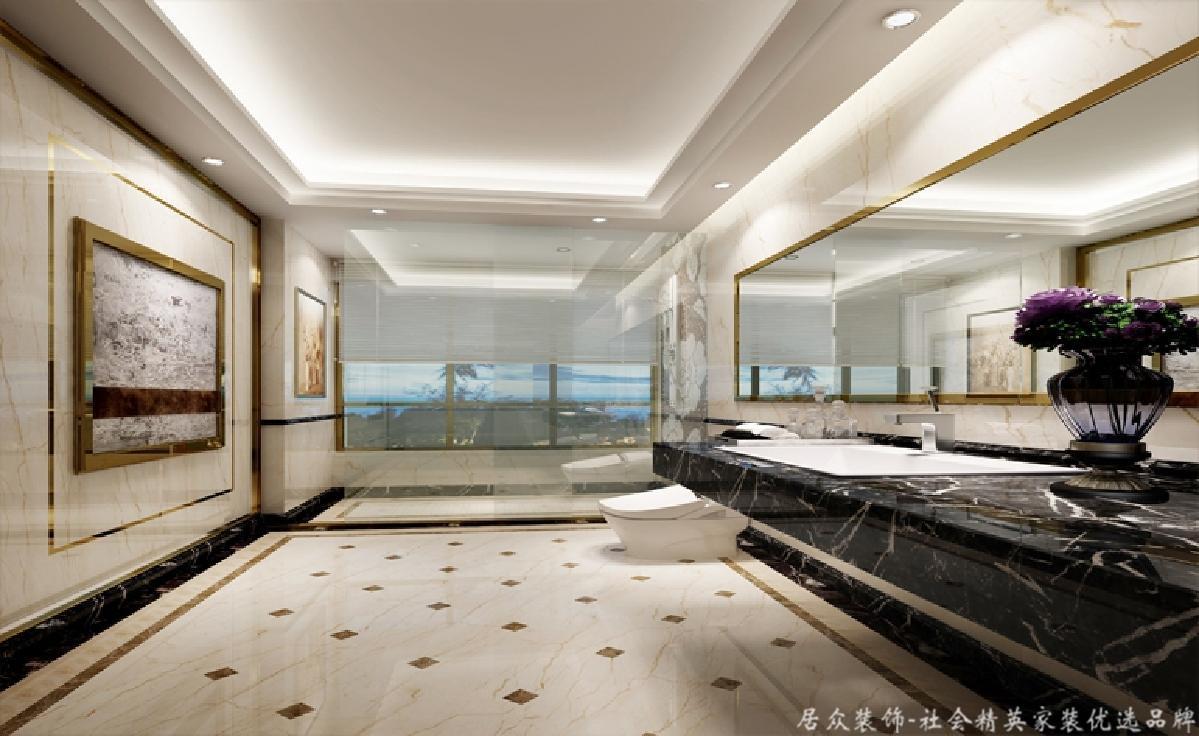 简约 卫生间图片来自深圳居众装饰集团在宏发领域-现代简约-130平米的分享