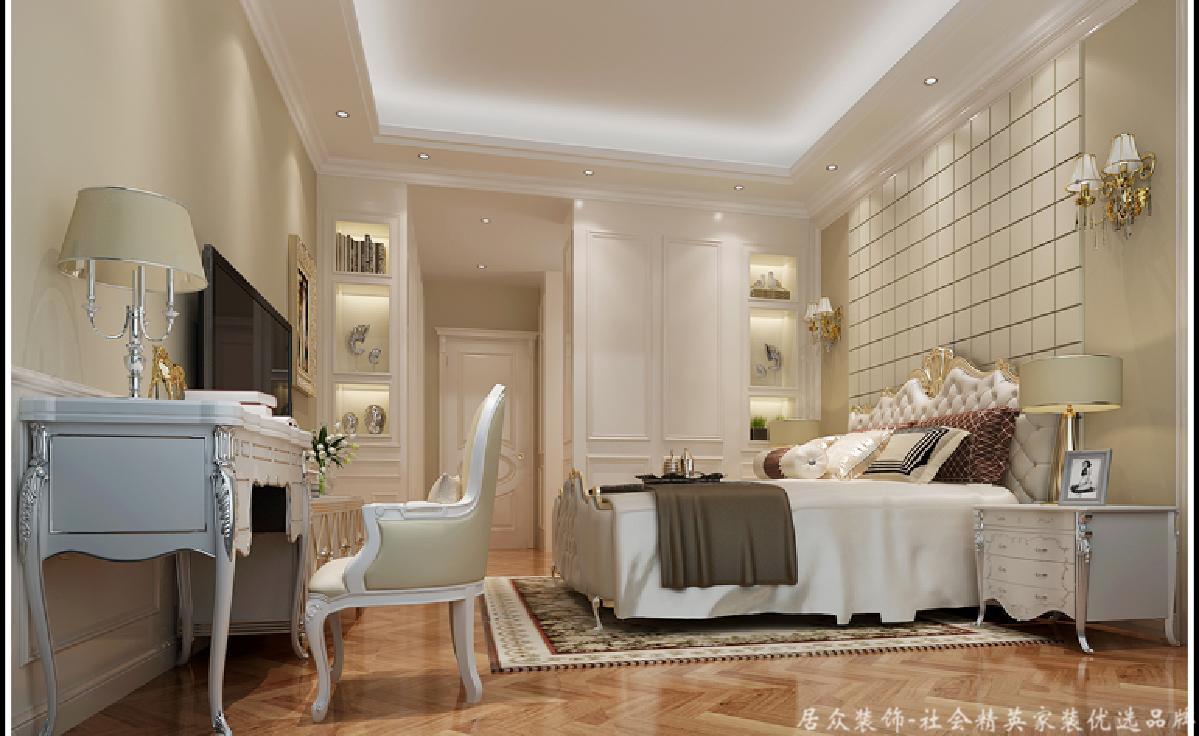 欧式 卧室图片来自深圳居众装饰集团在御峰园-欧式风格-238平米的分享