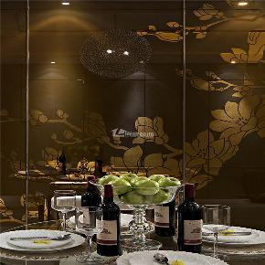 简约 混搭 二居 收纳 创意 舒适 餐厅图片来自岚庭家居在金地澜菲溪岸 96m² 现代混搭的分享
