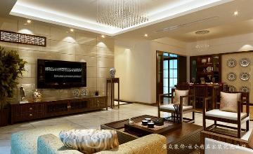 现代中式韵味-中信海阔天空130㎡