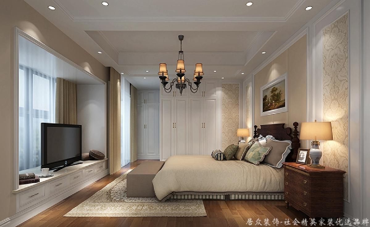 欧式 卧室图片来自深圳居众装饰集团在居众装饰-香格名苑-欧式-175平的分享
