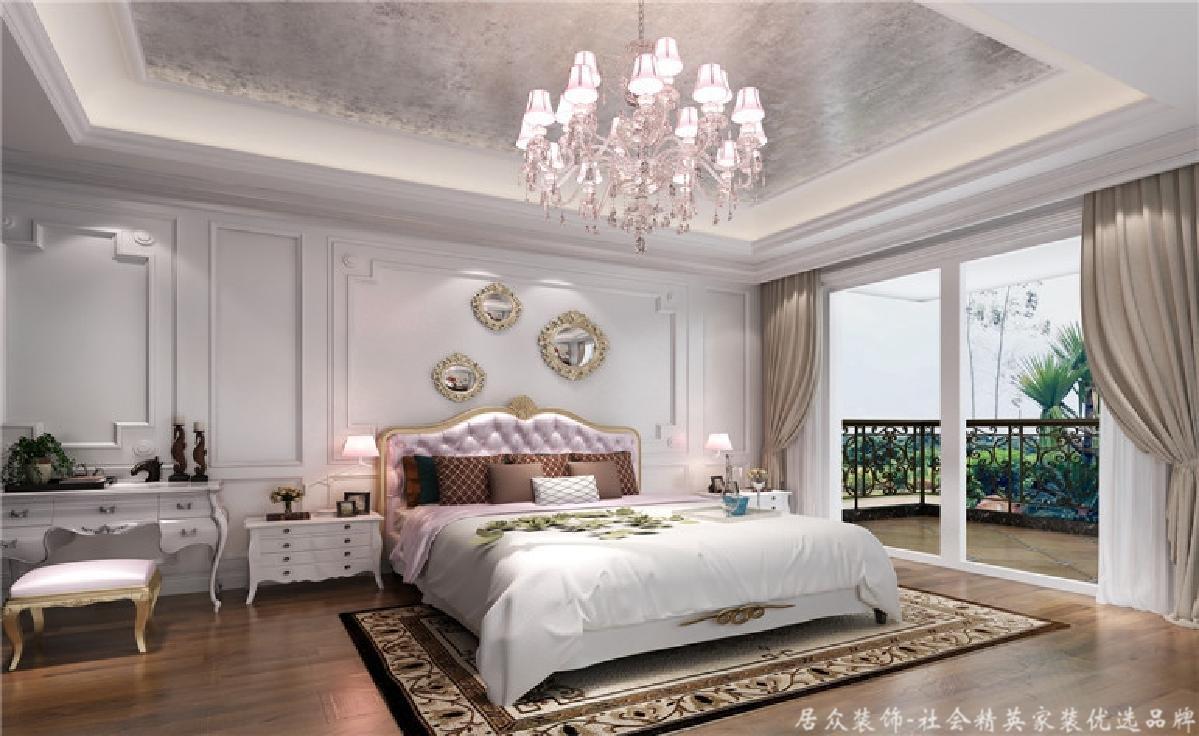 欧式 田园 别墅 卧室图片来自深圳居众装饰集团在十二橡树庄园-北欧-380平米的分享