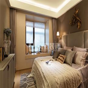 简约 三居 白领 舒适 整装 卧室图片来自岚庭家居在绿地中央广场 125m²  简约的分享