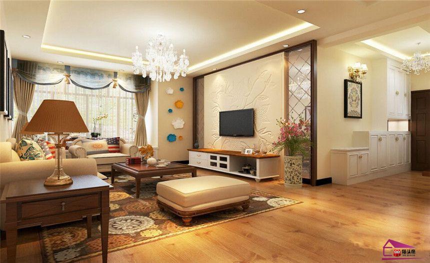 简欧 三居 客厅图片来自岚庭家居在纽宾凯汉city国际社区的分享