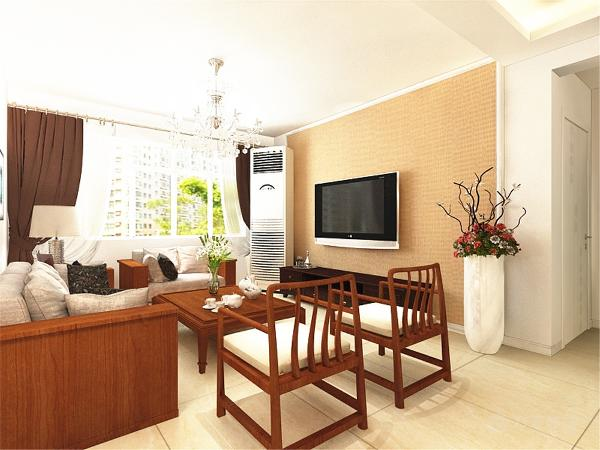 接下来是餐厅区域,深木色餐桌椅搭上4幅挂画,凸显现代简约的简洁大方。