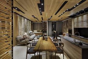 后现代 现代 舒适 个性 客厅图片来自岚庭家居在时代新世界119m² 三室两厅的分享