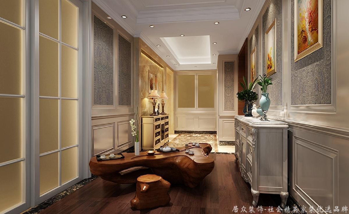 欧式 玄关图片来自深圳居众装饰集团在居众装饰-香格名苑-欧式-175平的分享