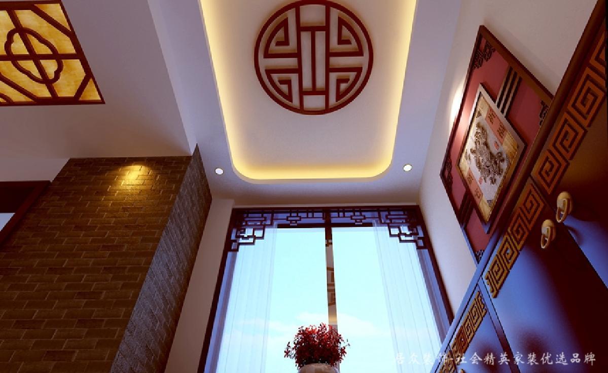 玄关图片来自深圳居众装饰集团在澳城-现代简约-100平米的分享