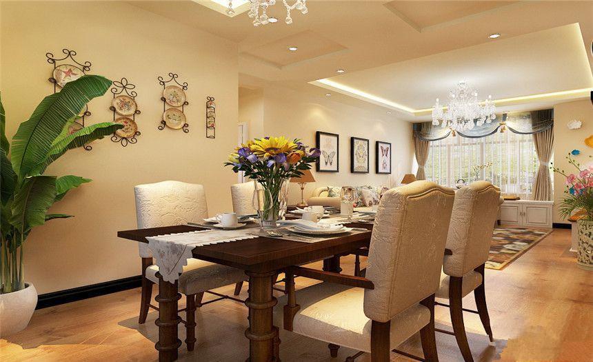 简欧 三居 餐厅图片来自岚庭家居在纽宾凯汉city国际社区的分享