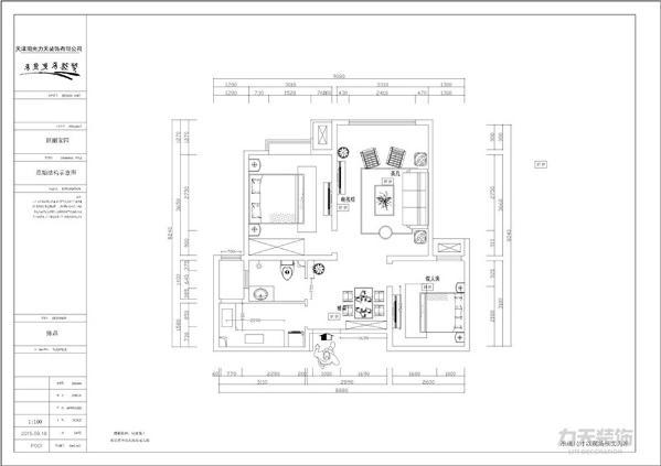 本户型为跃丽家园78平米。户型紧凑的两居室,空间利用率极高,没有浪费一点空间。