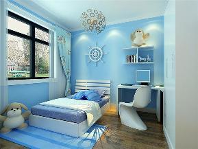港式 二居 小资 卧室图片来自天津白天鹅装饰工程有限公司在和泓四季恋城103平港式的分享