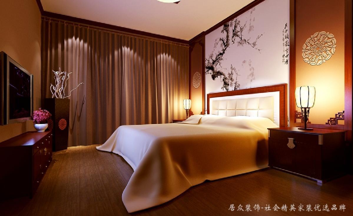 卧室图片来自深圳居众装饰集团在澳城-现代简约-100平米的分享