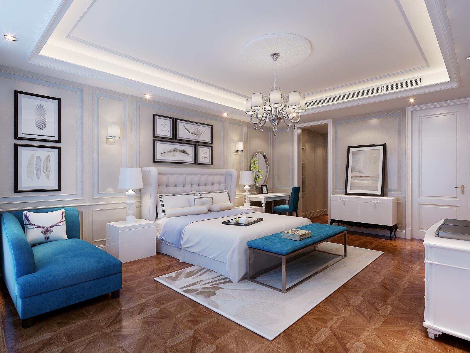 卧室图片来自业之峰装饰旗舰店在佛.儒的分享