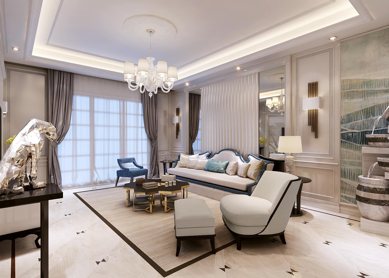 客厅图片来自业之峰装饰旗舰店在佛.儒的分享
