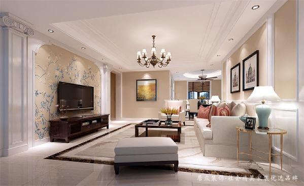 本案的设计风格以现代欧式简约风格为主,色调简洁明快、大方,营造典雅、自然、高贵的气质、浪漫的情调是本案的主题。