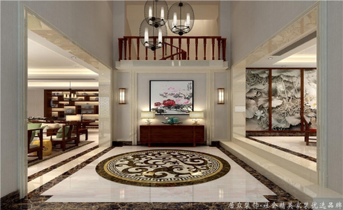 别墅 小资 玄关图片来自重庆居众装饰在高贵大气的分享