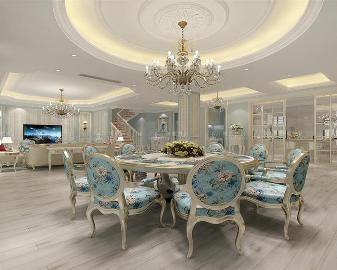 九龙仓兰宫别墅装修法式风格设计