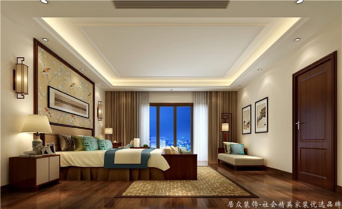 别墅 小资 卧室图片来自重庆居众装饰在高贵大气的分享