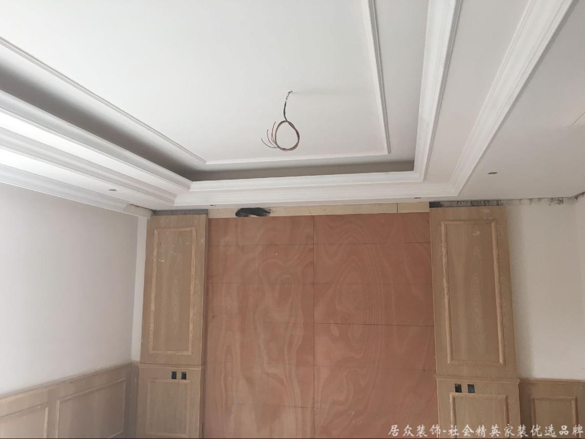 别墅 小资 中式 卧室图片来自重庆居众装饰在万科渝园在线工地进度更新的分享