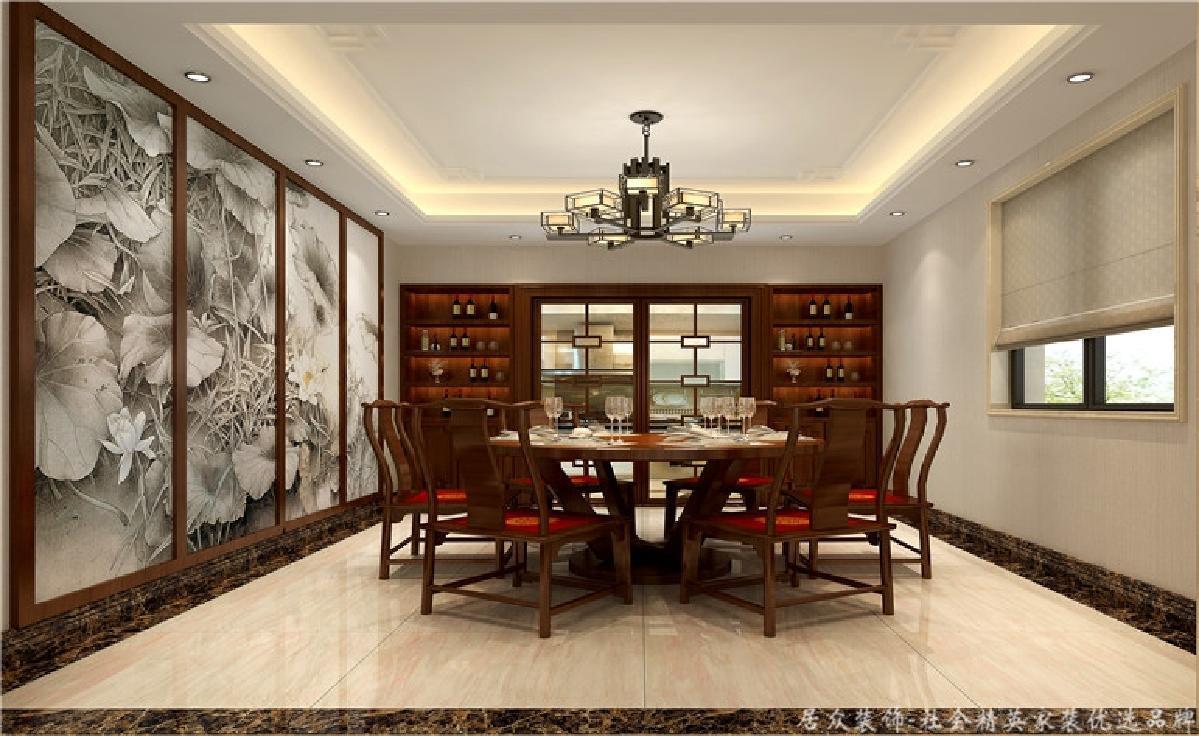 别墅 小资 餐厅图片来自重庆居众装饰在高贵大气的分享