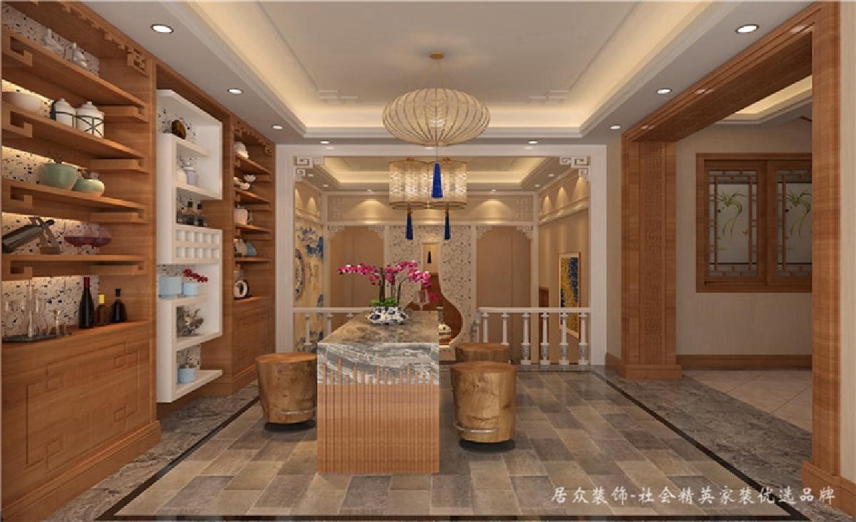 别墅 中式 新中式 其他图片来自深圳居众装饰集团在典雅尊贵中式别墅-350㎡的分享