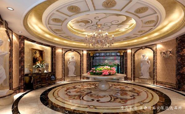 入户的玄关体现了欧式风格的奢华和大气。设计注重细节的刻画,色调优雅。