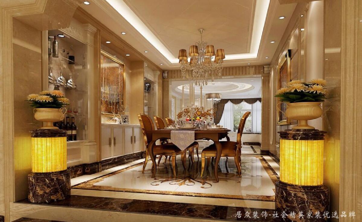 """欧式 奢华 别墅 客厅图片来自居众装饰长沙分公司在拿破仑""""欧式经典""""的分享"""