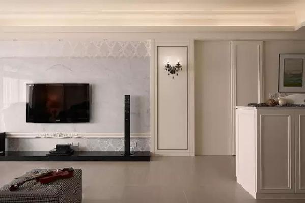 新古典混搭风三居室装修效果图