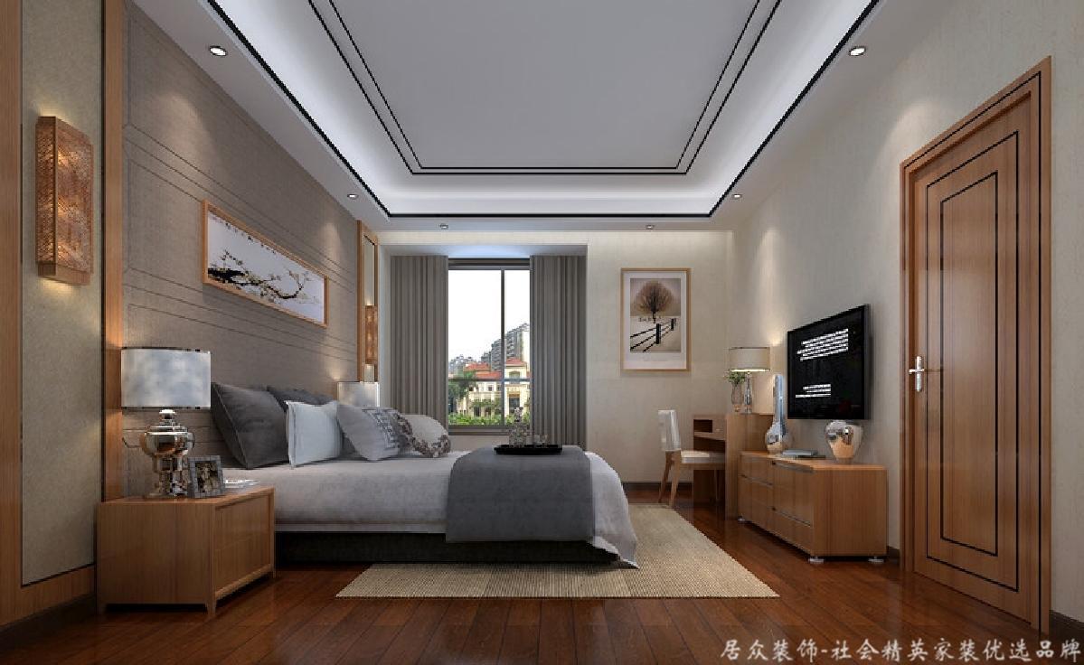 简约 别墅 卧室图片来自gz居众装饰在简约型别墅的分享