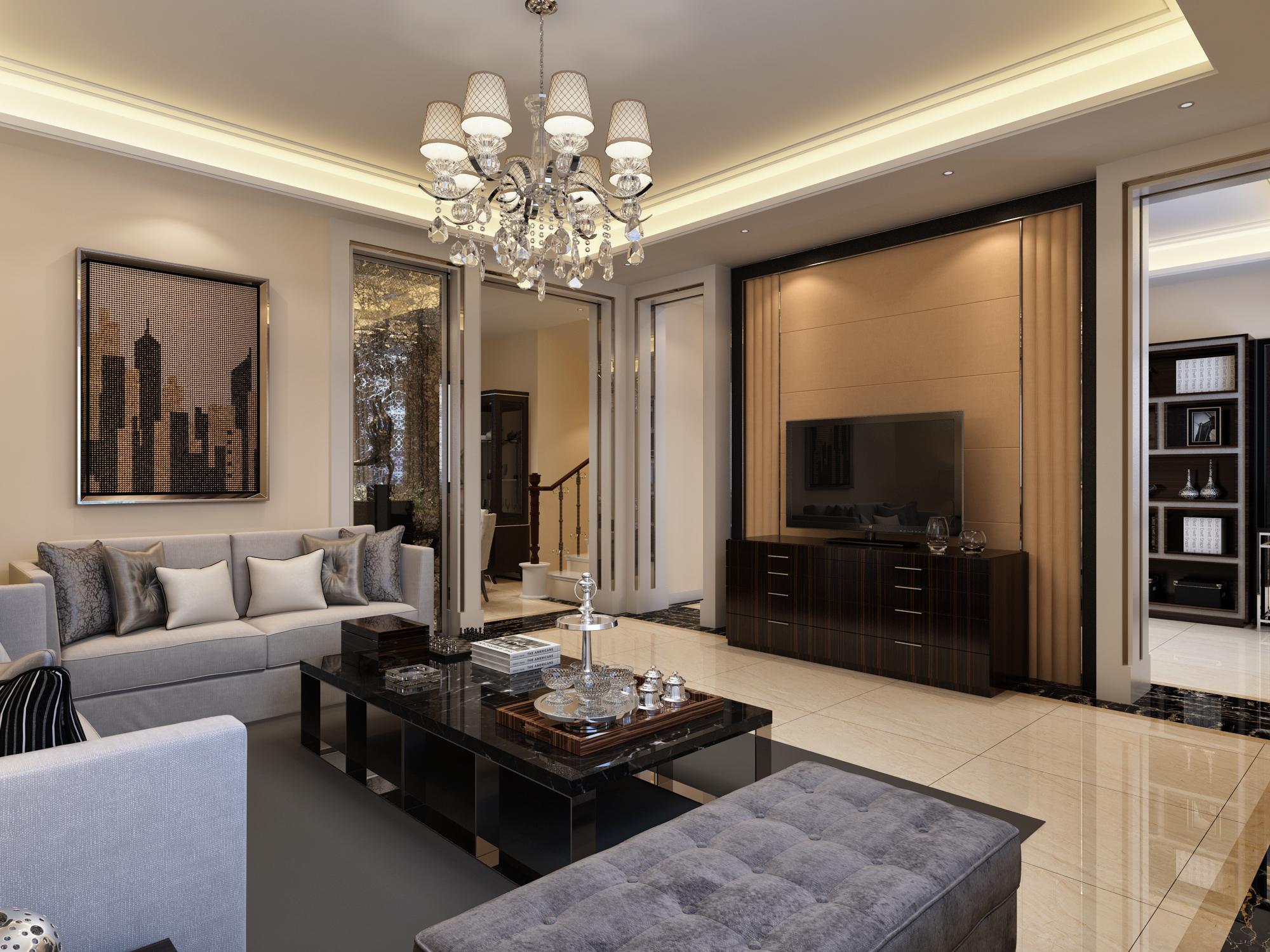 欧式 别墅 80后 混搭 客厅图片来自赢和国际设计在新苑小区的分享