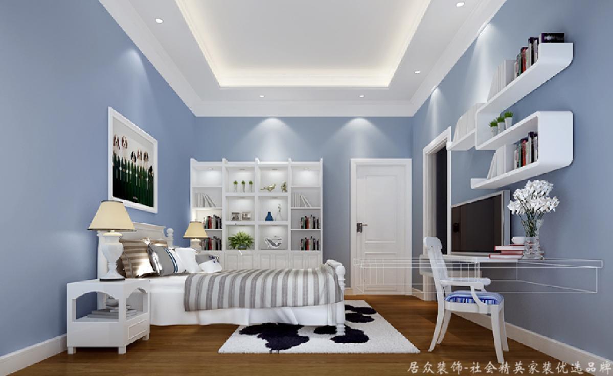 别墅 白领 中式风 卧室图片来自重庆居众装饰在美美美的家居生活的分享