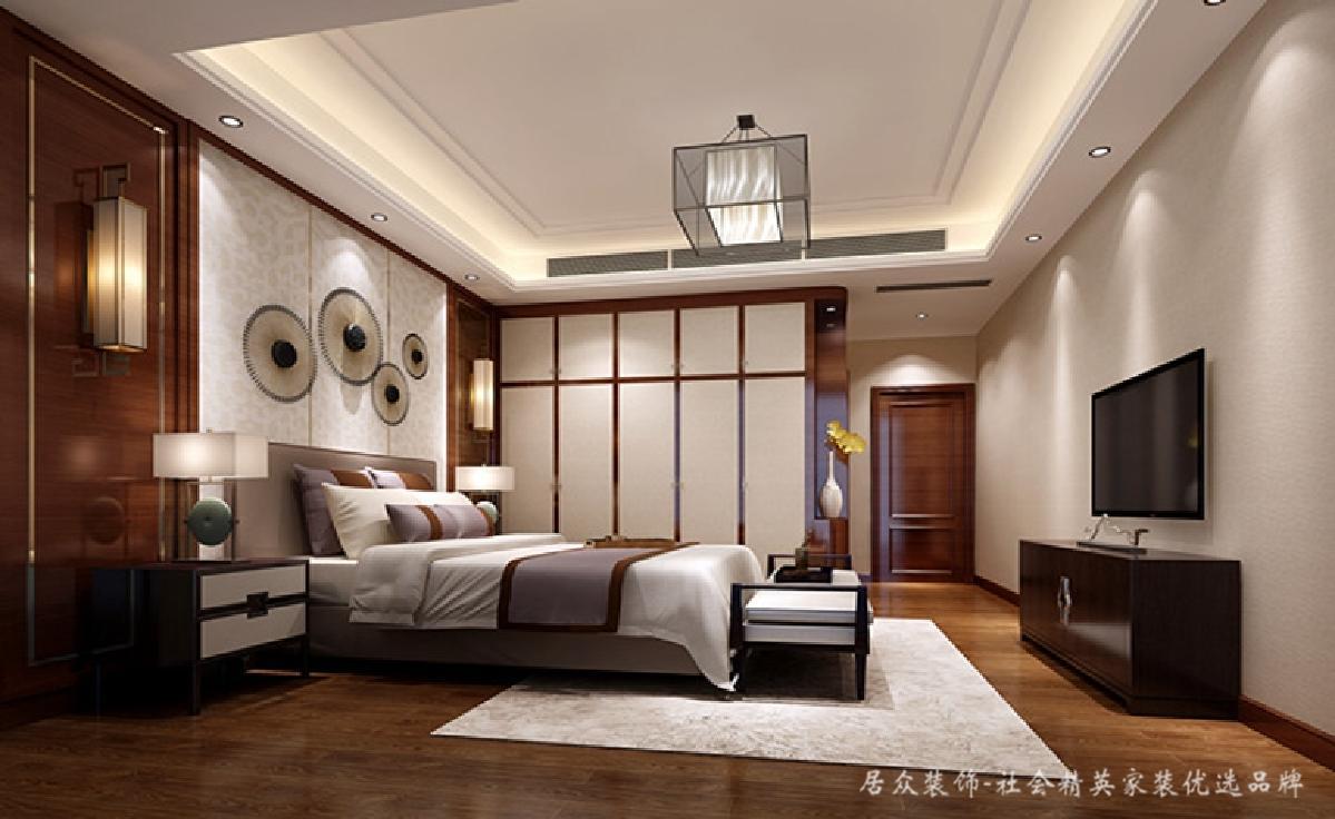 中式 现代 卧室图片来自居众装饰长沙分公司在高端创意、新中式的分享