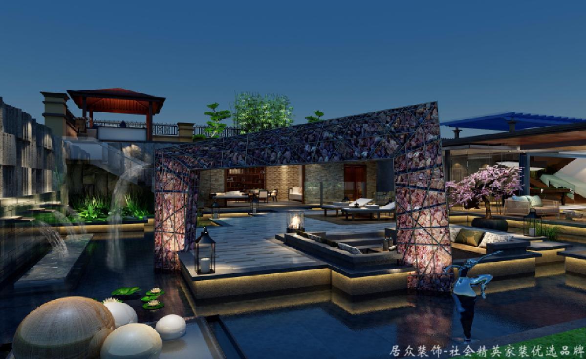 欧式 别墅 BOSS 其他图片来自重庆居众装饰在金科太阳海岸-欧式风格-626㎡的分享