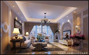 """欧式 四居 温馨 客厅图片来自居众装饰长沙分公司在欧式""""情趣""""的分享"""