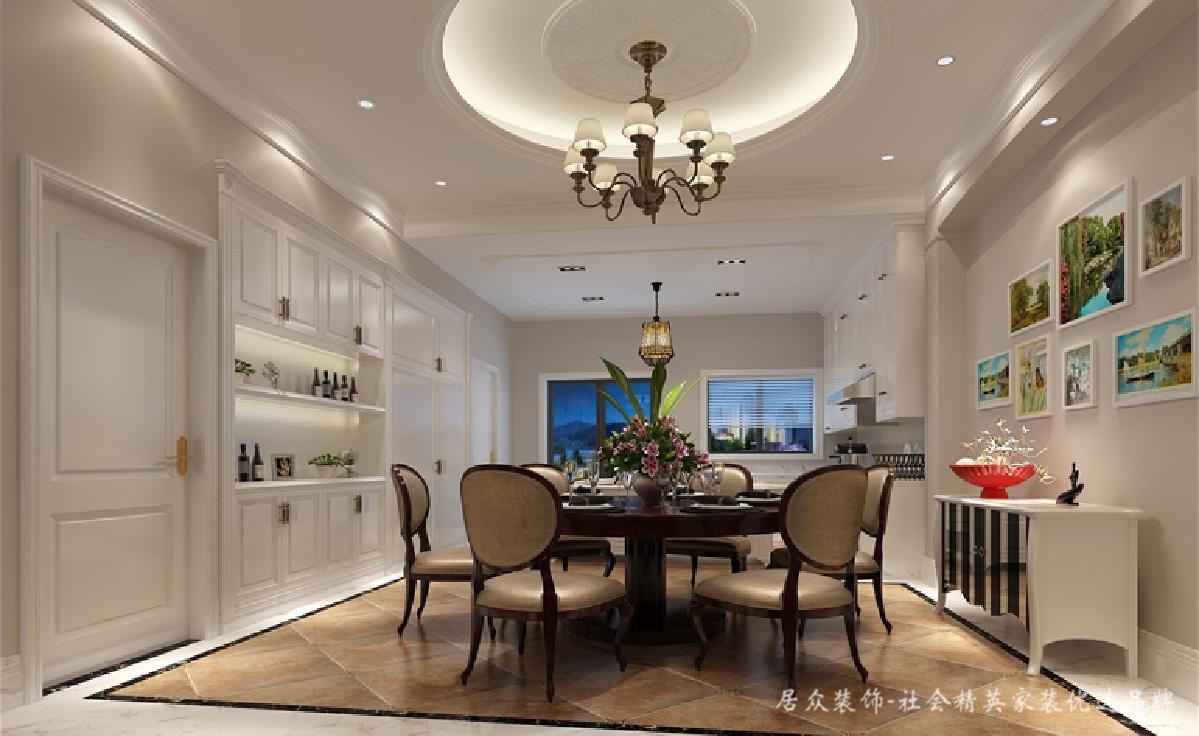 别墅 餐厅图片来自深圳居众装饰集团在保利紫山-美式风格-500平米的分享