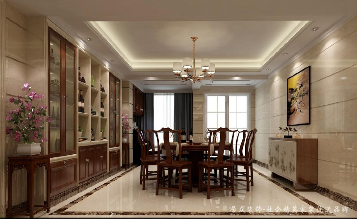 简约 中式 餐厅图片来自居众装饰长沙分公司在中式豪宅、彰显大气的分享