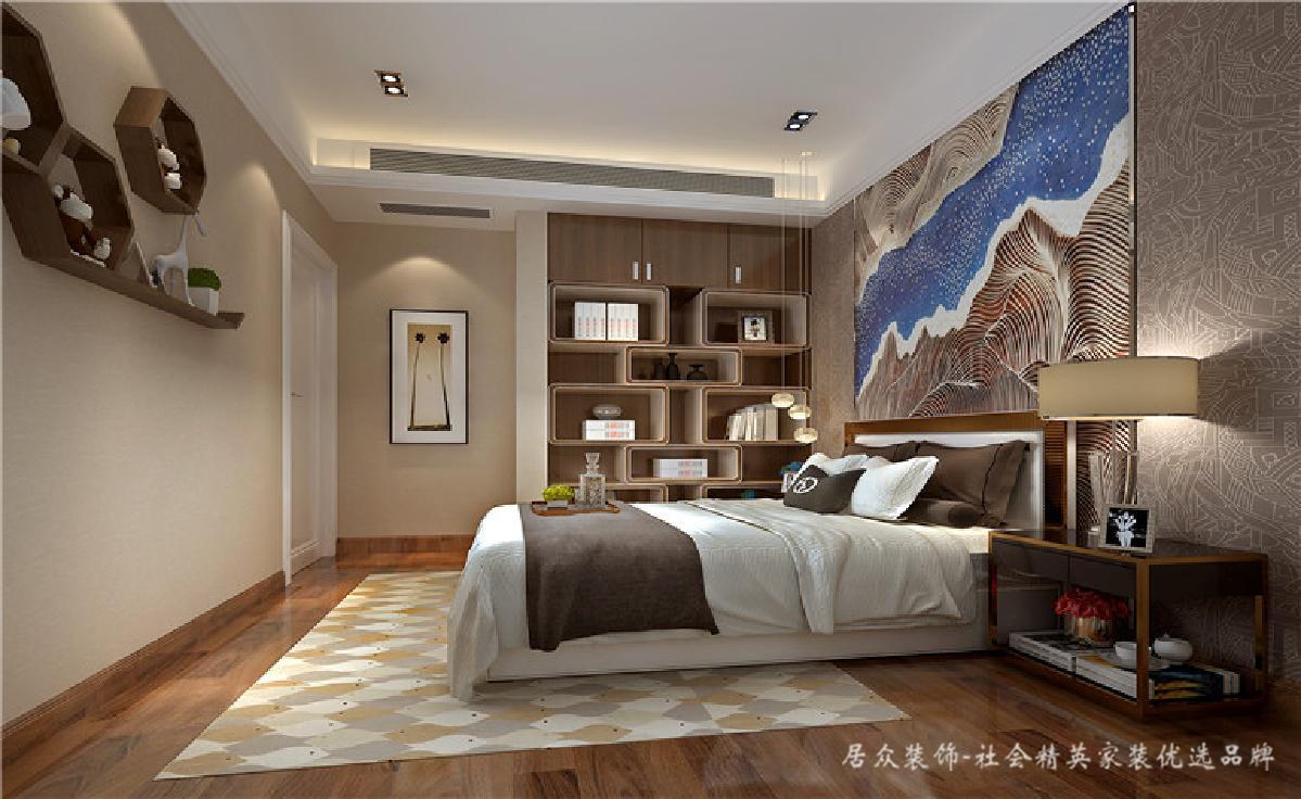 简约 卧室图片来自深圳居众装饰集团在锦河湾-现代简约-88平米的分享