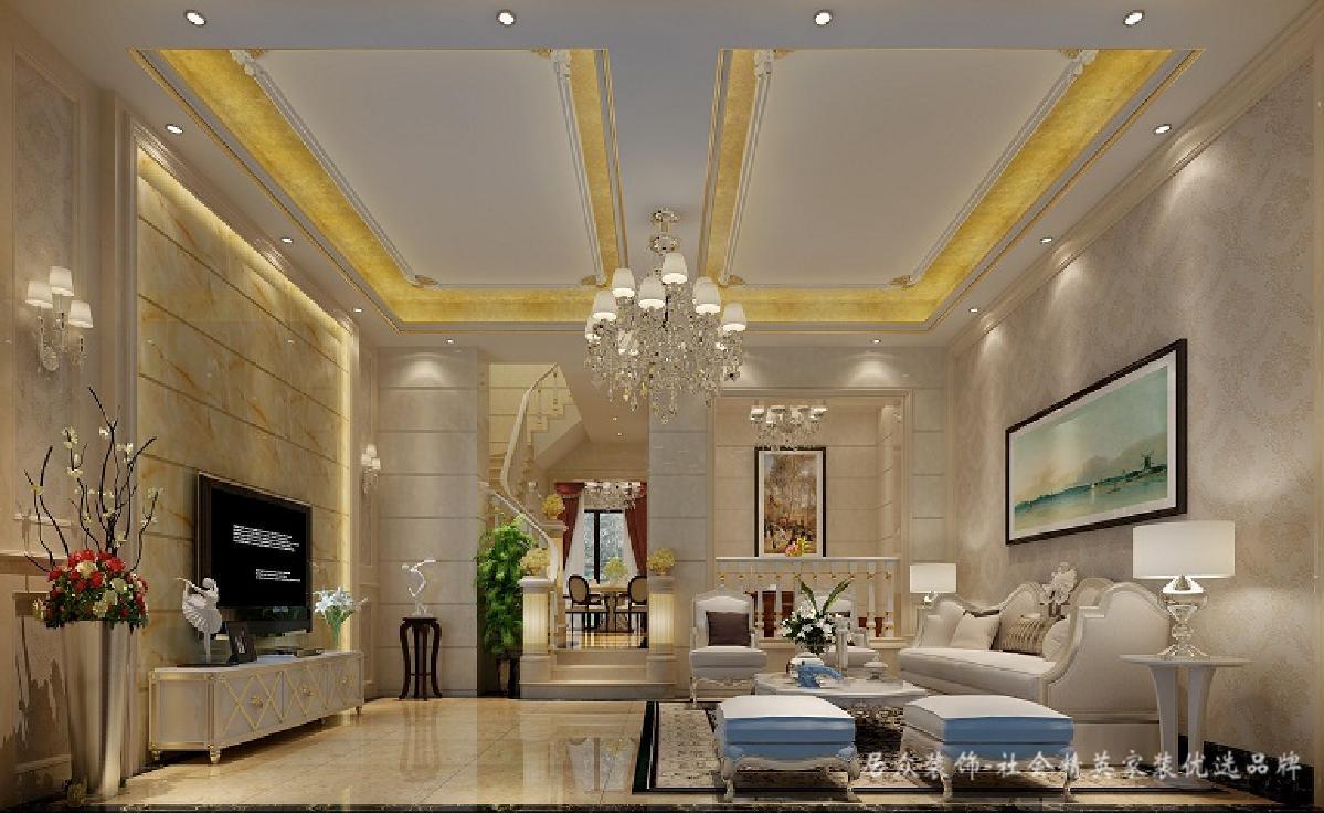 欧式 客厅图片来自深圳居众装饰集团在金地荔湖墅-北欧风格-240平米的分享