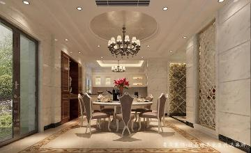 碧桂园豪庭-欧式风格-500平米