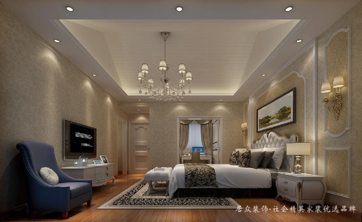 欧式 卧室图片来自深圳居众装饰集团在金地荔湖墅-北欧风格-240平米的分享